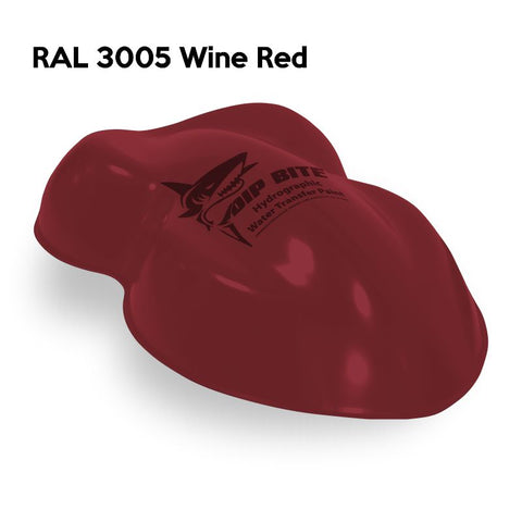 DIP BITE HYDROGRAPHIC PAINT RAL 3005 WINE RED