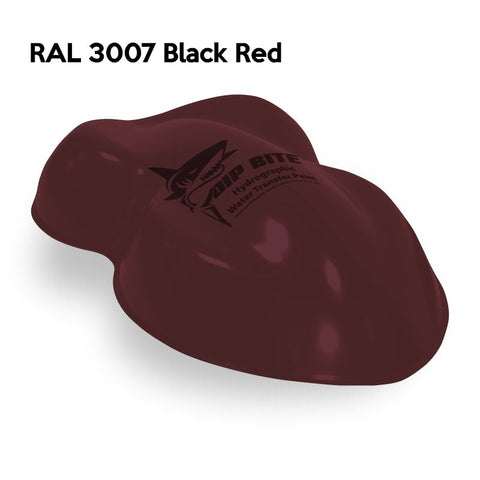 DIP BITE HYDROGRAPHIC PAINT RAL 3007 BLACK RED