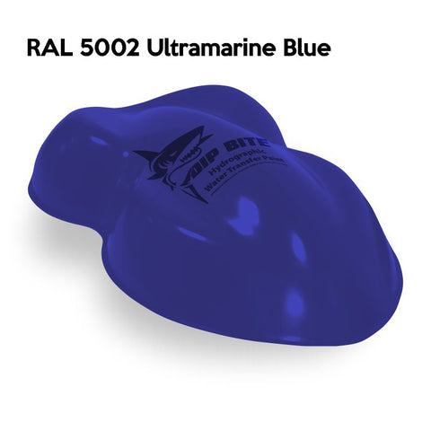 DIP BITE HYDROGRAPHIC PAINT RAL 5002 ULTRAMARINE BLUE