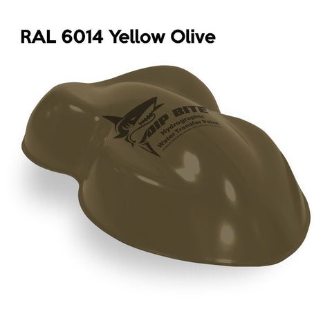 DIP BITE HYDROGRAPHIC PAINT RAL 6014 YELLOW OLIVE
