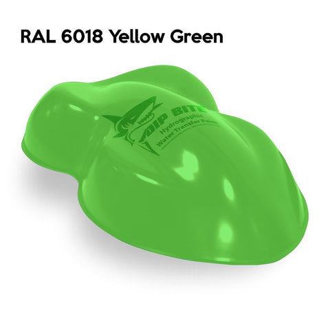 DIP BITE HYDROGRAPHIC PAINT RAL 6018 YELLOW GREEN