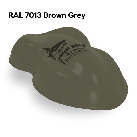 DIP BITE HYDROGRAPHIC PAINT RAL 7013 BROWN GREY