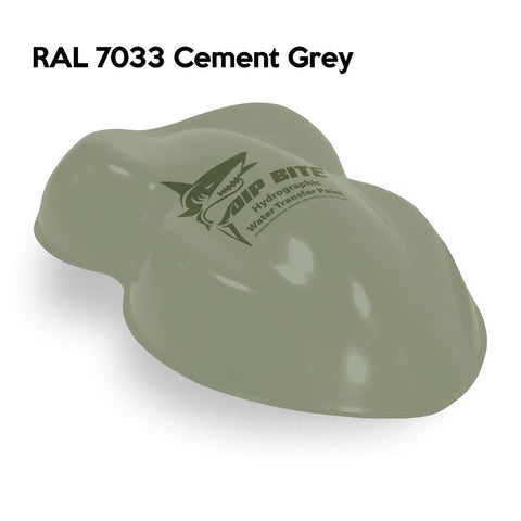 DIP BITE HYDROGRAPHIC PAINT RAL 7033 CEMENT GREY