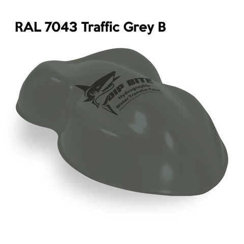 DIP BITE HYDROGRAPHIC PAINT RAL 7043 TRAFFIC GREY B