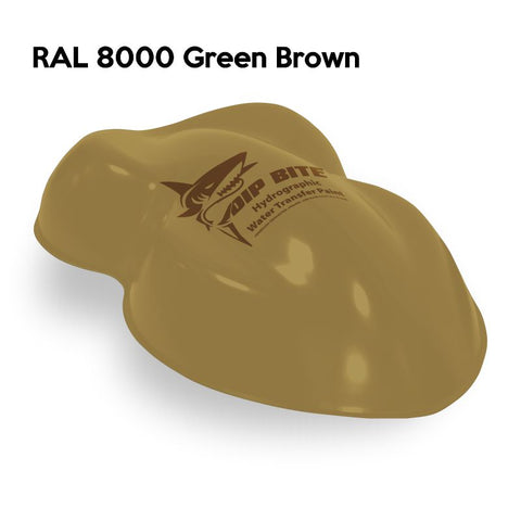 DIP BITE HYDROGRAPHIC PAINT RAL 8000 GREEN BROWN