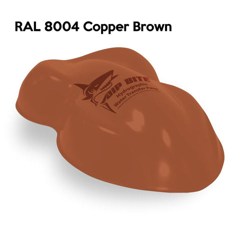 DIP BITE HYDROGRAPHIC PAINT RAL 8004 COPPER BROWN
