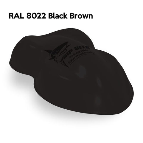 DIP BITE HYDROGRAPHIC PAINT RAL 8022 BLACK BROWN