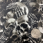 ACT SEE NO EVIL SKELETON SKULLS HYDROGRAPHIC FILM  - EXCLUSIVE