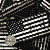 BLACK/CLEAR GARRISON AMERICAN FLAGS - EXCLUSIVE