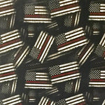 THIN RED LINE FIREFIGHTER AMERICAN FLAGS - EXCLUSIVE