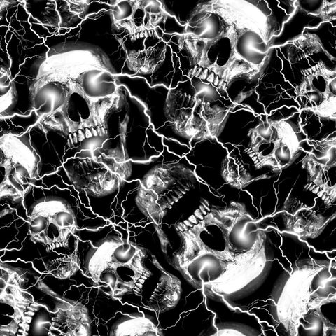 SKULL SHOCK HYDROGRAPHIC FILM