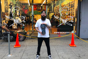 A Look Inside Sneaker Customizer Kickasso's New Studio and Store
