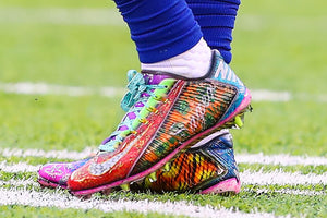Odell Beckham pays homage to Craig Sager with colorful cleats
