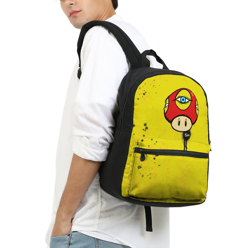 Third Eye Small Canvas Backpack