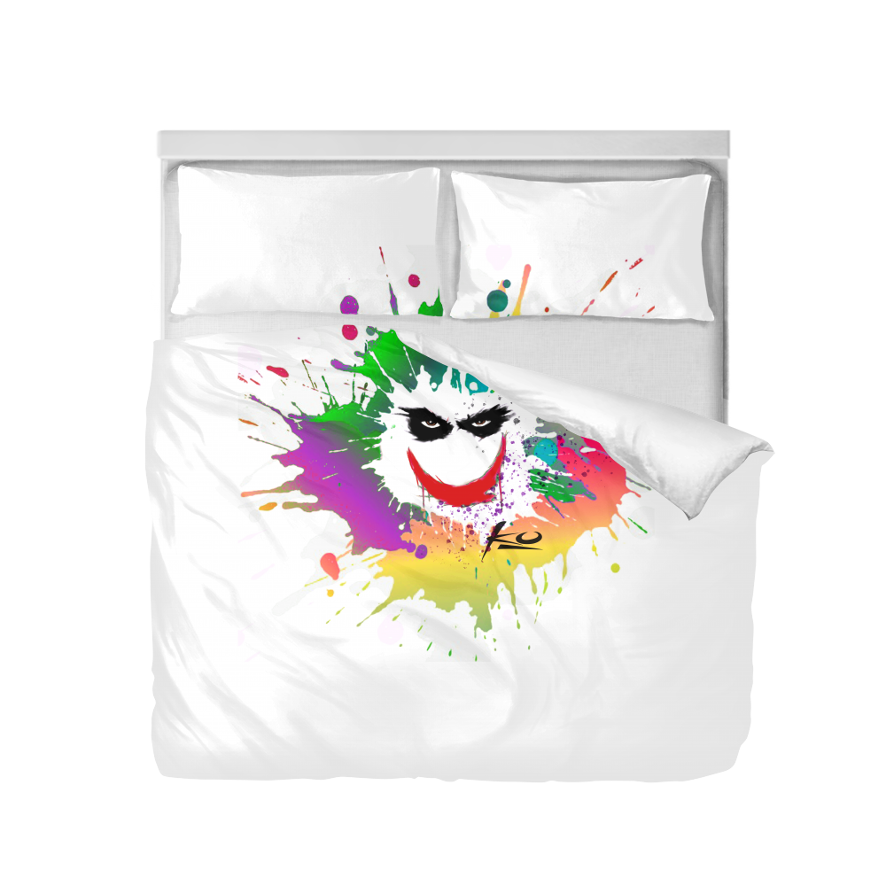Smile King Duvet Cover Set