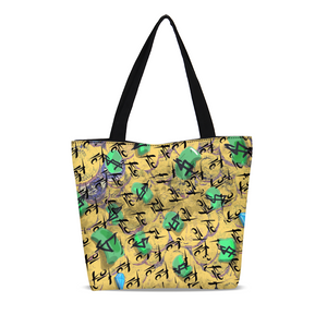 Cash Canvas Zip Tote Bag