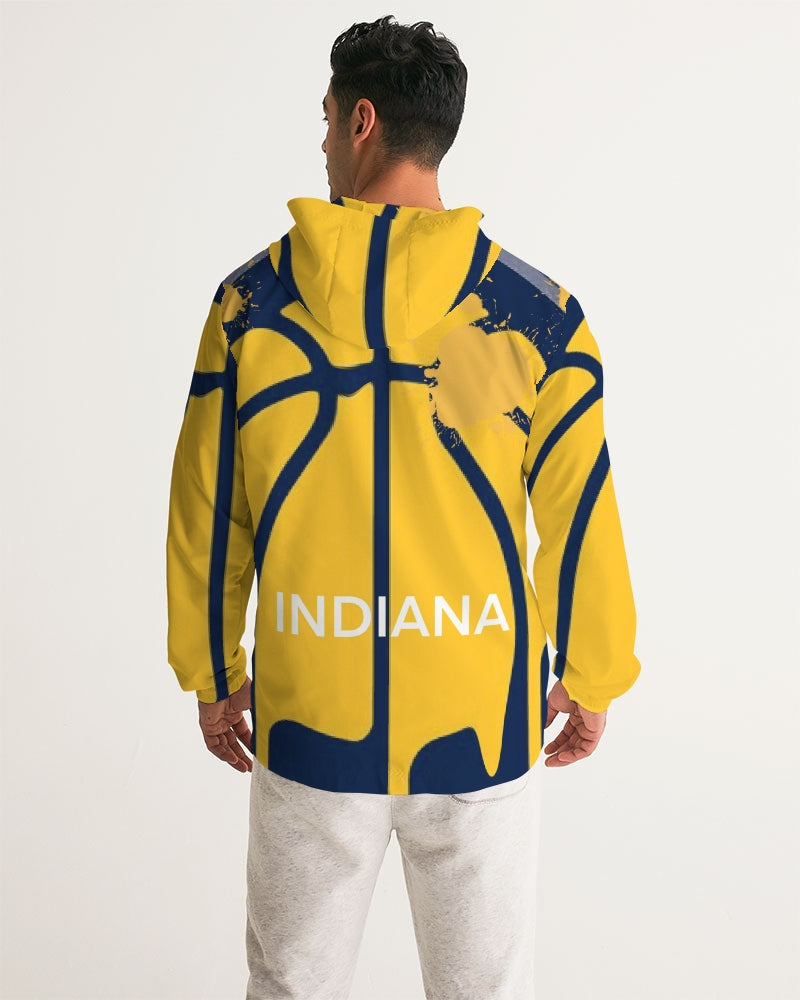 Indiana Men's Hooded Windbreaker