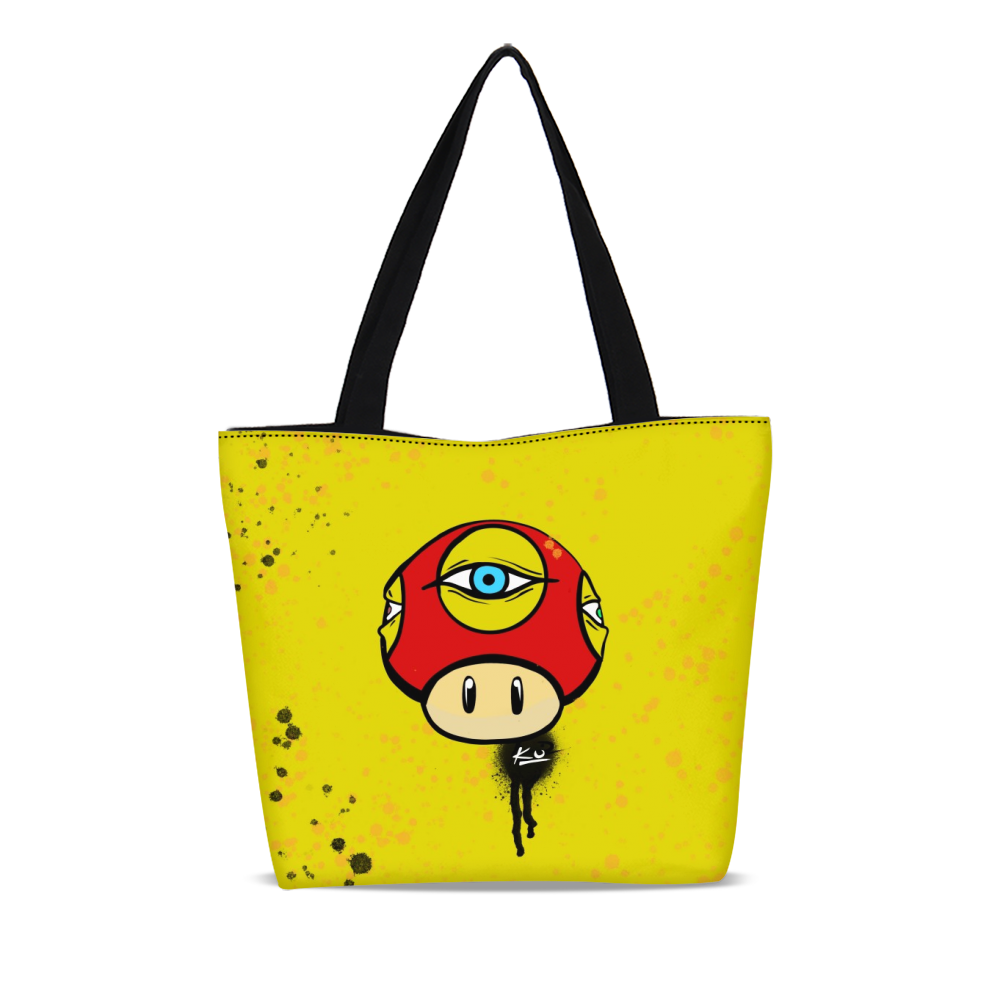 Third Eye Canvas Zip Tote Bag