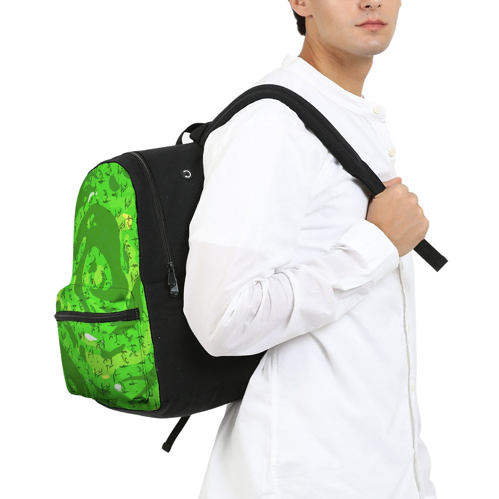 Portal Small Canvas Backpack