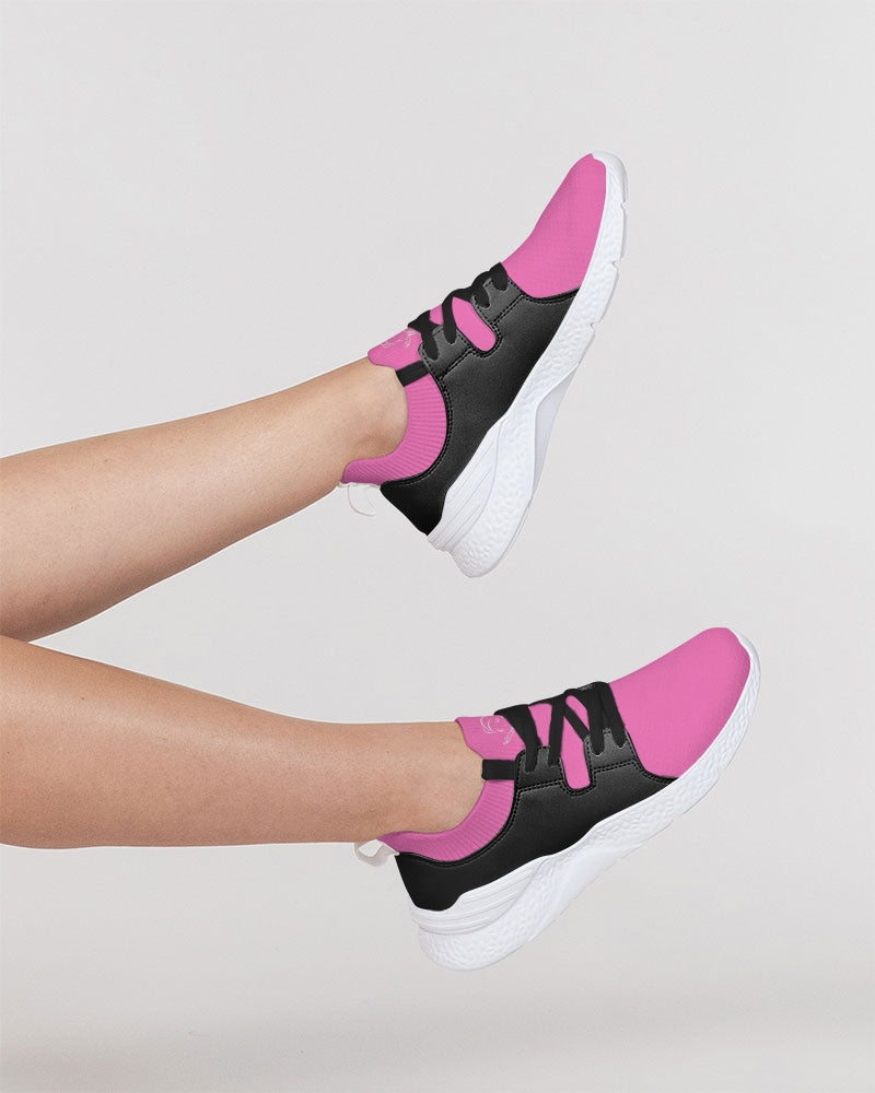K_o 2 Pink Women's Two-Tone Sneaker