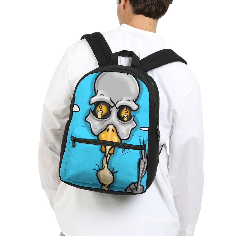 The Bird Small Canvas Backpack