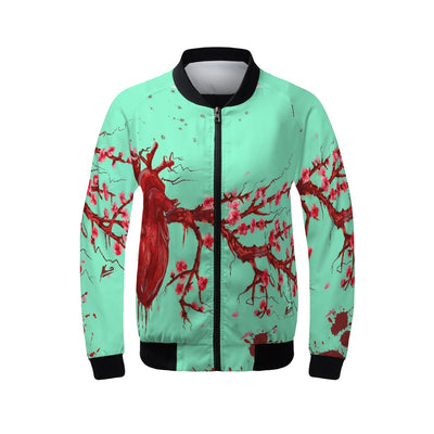 Heart Blossom Women's Windbreaker
