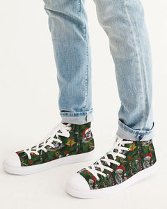Scary Christmas Men's Hightop Canvas Shoe
