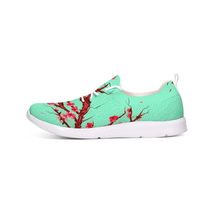 Ladies Cherry Blossom Lace Up Flyknit Shoe