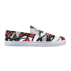 THE FACE Slip-On Canvas Shoe