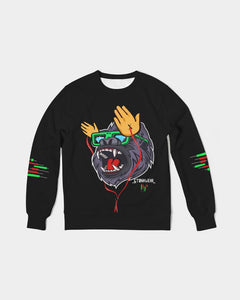 Diamond handed gorilla Men's Classic French Terry Crewneck Pullover
