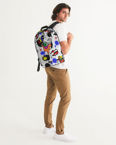 The Eye Print Large Backpack