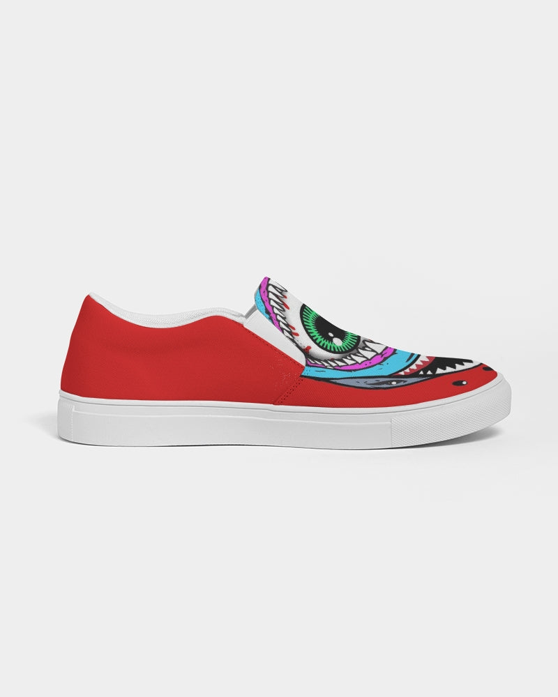 Shark Men's Slip-On Canvas Shoe