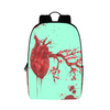 Heart Blossom Large Backpack