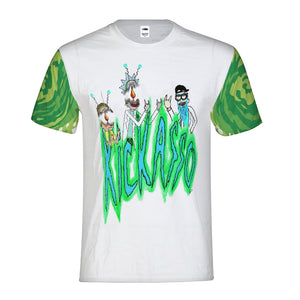 Mind Blown Rick and Morty Men's Tee