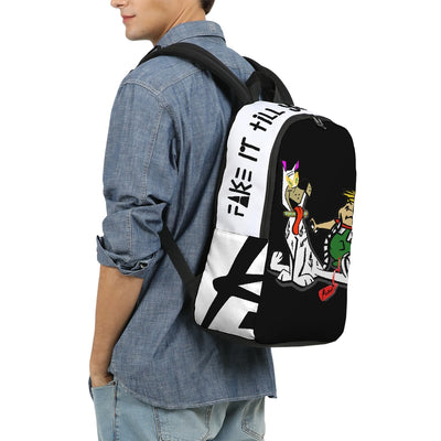 Fake It Large Backpack