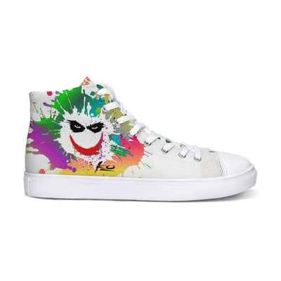 Smile Hightop Canvas Shoe