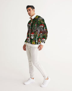 Scary Christmas Men's Track Jacket