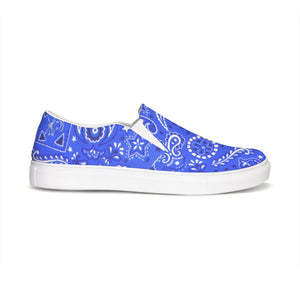 Paisley  Slip-On Canvas Shoe