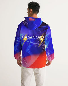 Oklahoma City Men's Hooded Windbreaker