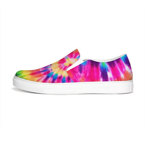 Tie Dye  Slip-On Canvas Shoe