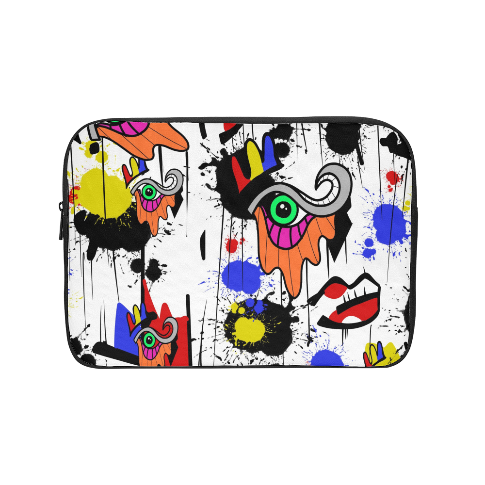 The Eye Print Laptop Sleeve