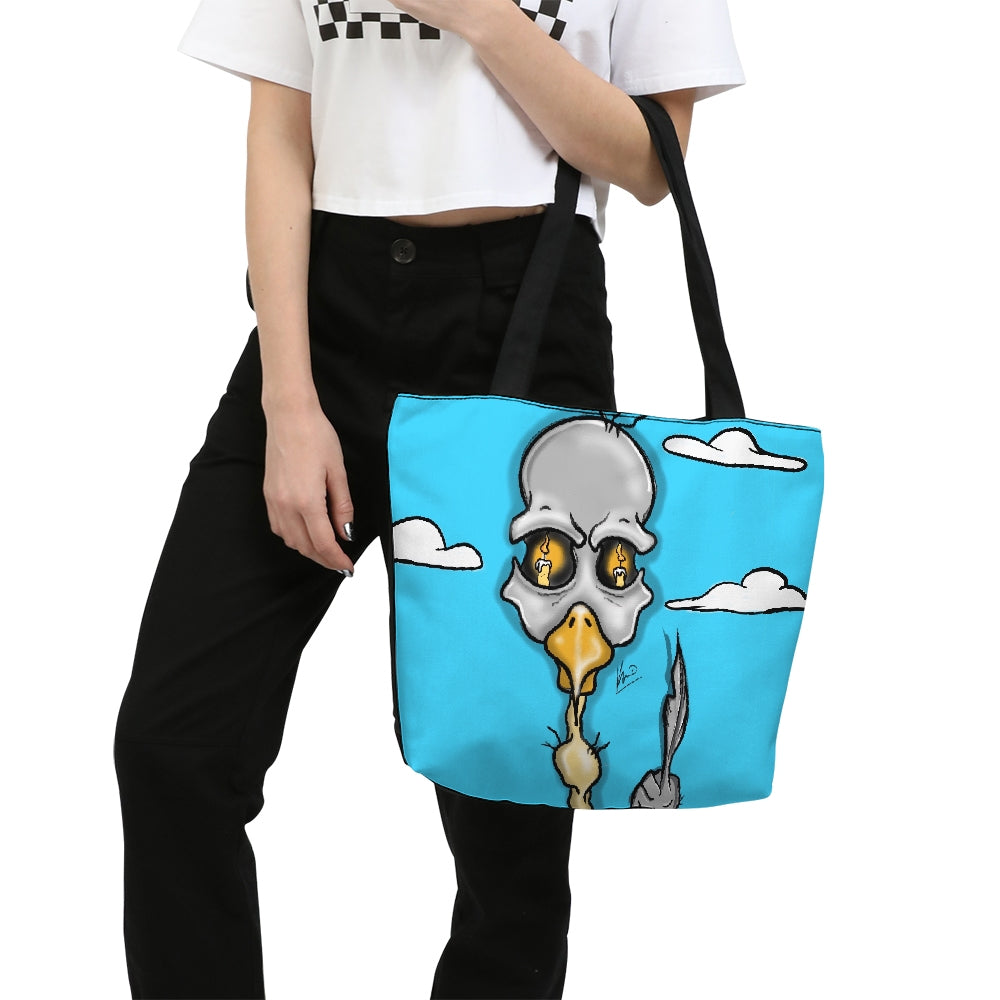 The Bird Canvas Zip Tote Bag