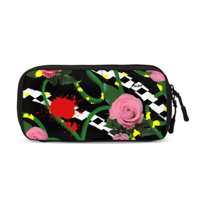 Pink Floral Small Travel Organizer