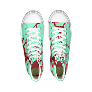 Heart Blossom Hightop Canvas Shoe