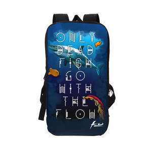 Only Dead Fish Slim Tech Backpack