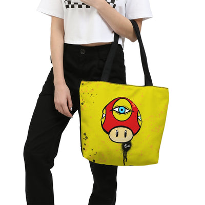 Third Eye Canvas Zip Tote