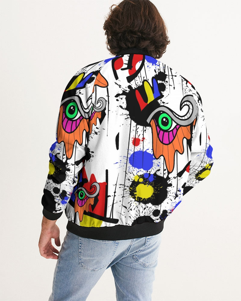 The Eye Print Men's Windbreaker