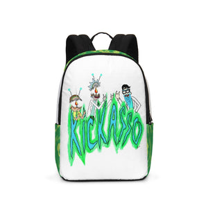 Mind Blown Rick and Morty Large Backpack