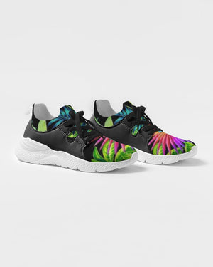 K_o 2 Neon Floral Men's Two-Tone Sneaker