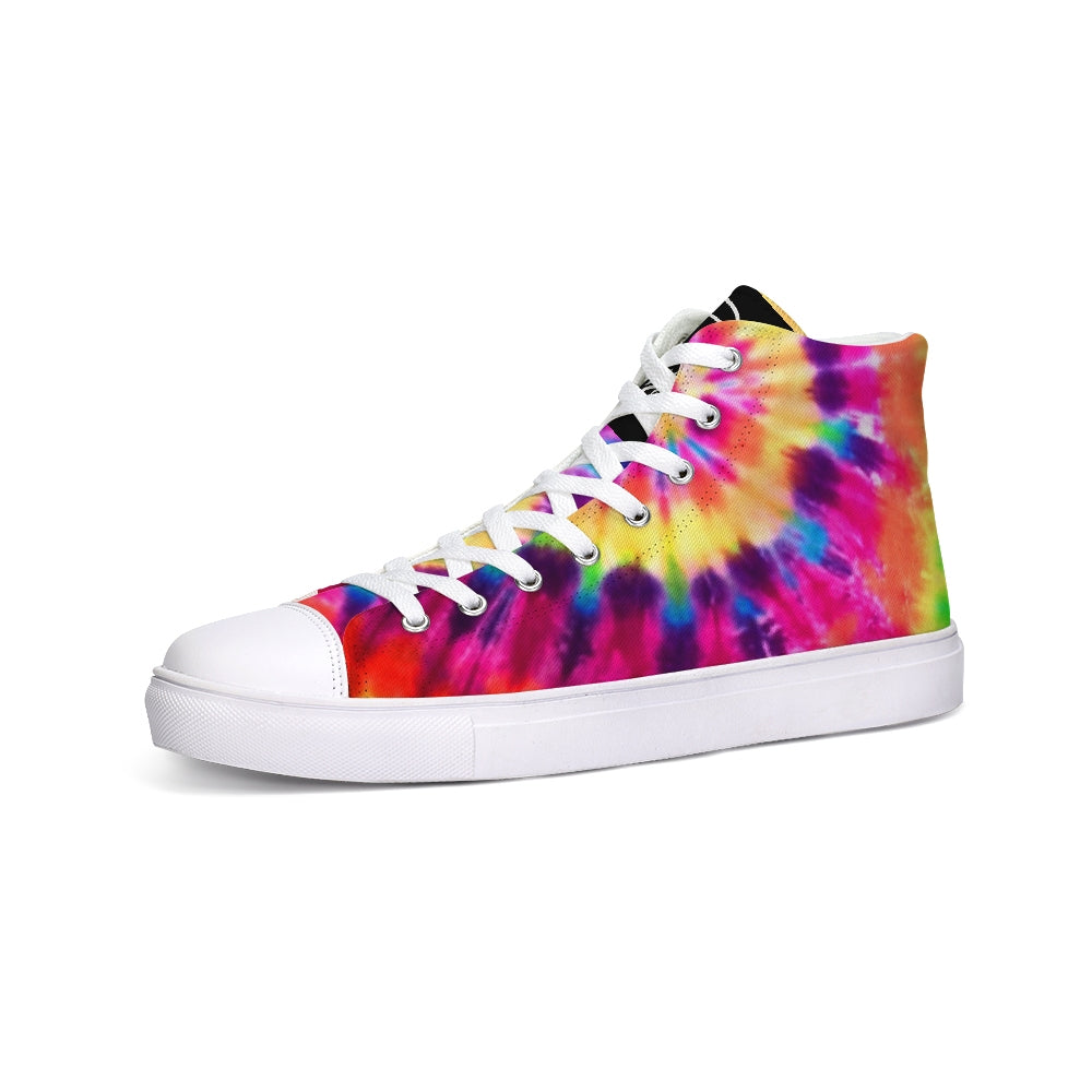 TieDye  Hightop Canvas Shoe